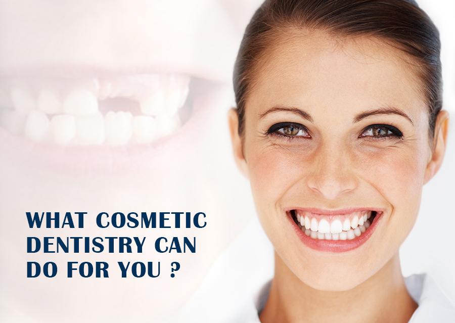 What Cosmetic Dentistry can do for you ?