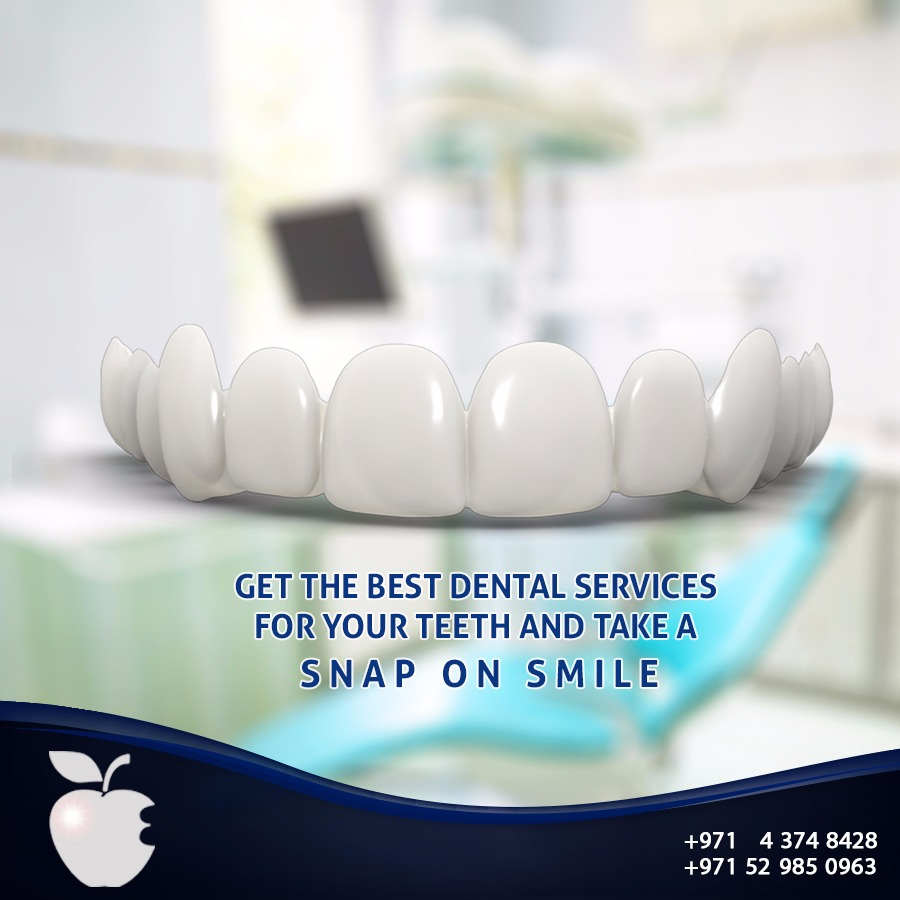 Get the Best Dental Services for Your Teeth and Take a Snap on Smile