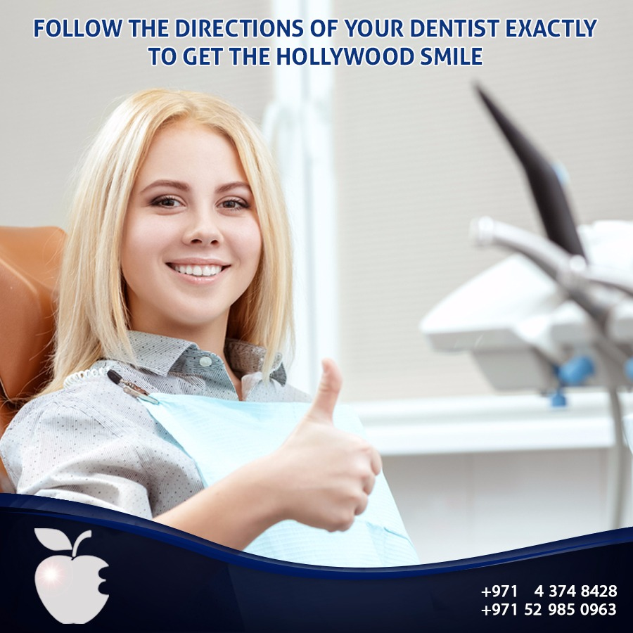 Follow the Directions of Your Dentist Exactly to Get the Inspiring Smile
