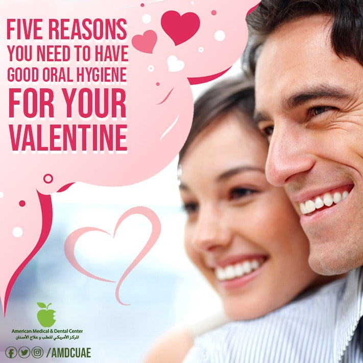 (English) 5 reasons to have good oral hygiene for your Valentine